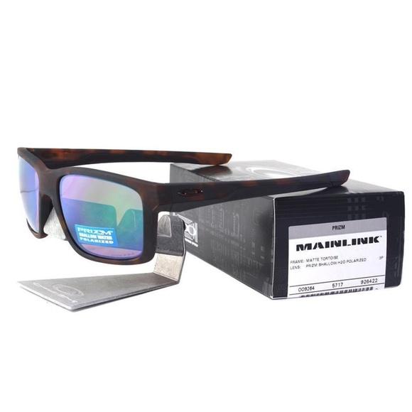 6bb851d752 Oakley 9264-22 Polarized Mainlink Prizm Sunglasses